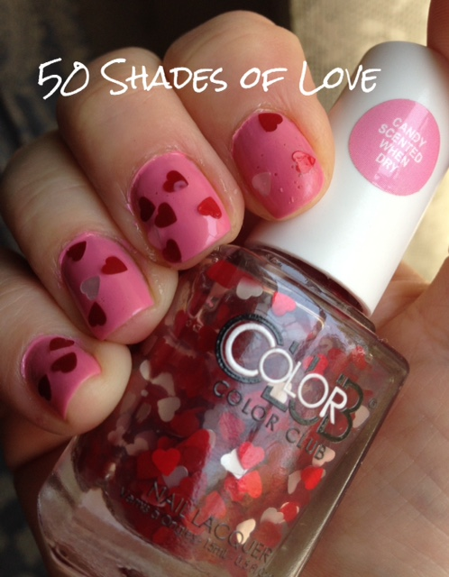 Color Club Nail Lacquer: 50 Shades of Love Hearts Topper – Never Say ...