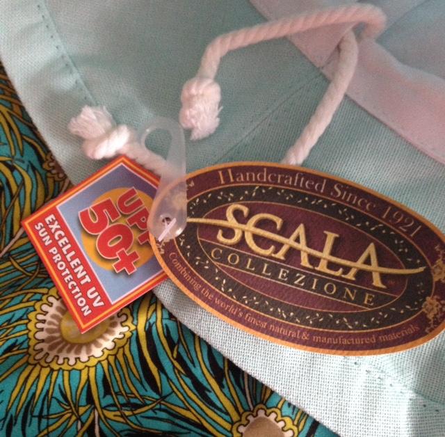 a46869ce Scala Collezione Medium Brim Cotton Sun Hat UPF 50 – Never Say Die ...