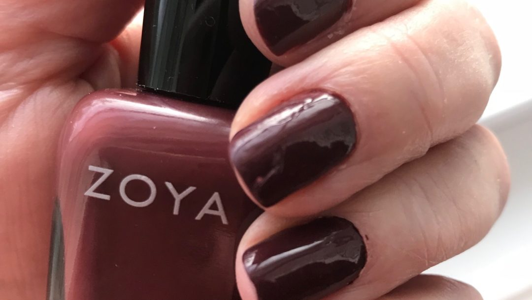 Zoya Mona Nail Polish: Another Vampy Burgundy Shade – Never Say Die ...