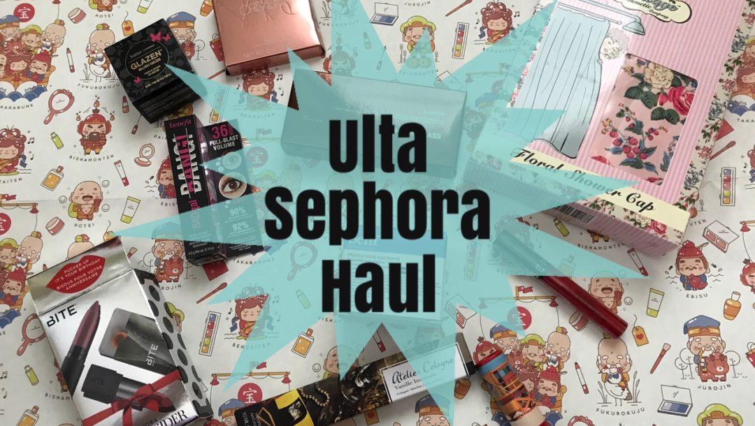 Ulta And Sephora Birthday Gifts Mini Hauls Never Say Die Beauty