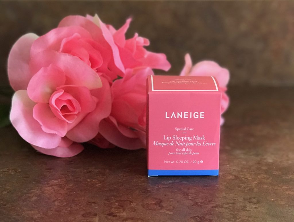 outer packaging of Laneige Lip Sleeping Mask, neversaydiebeauty.com
