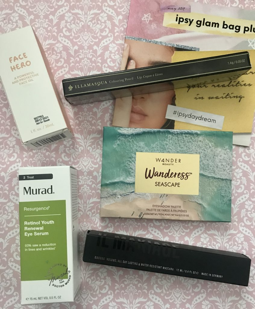 Ipsy May '19 Glam Bag Plus: #DayDream – Never Say Die Beauty