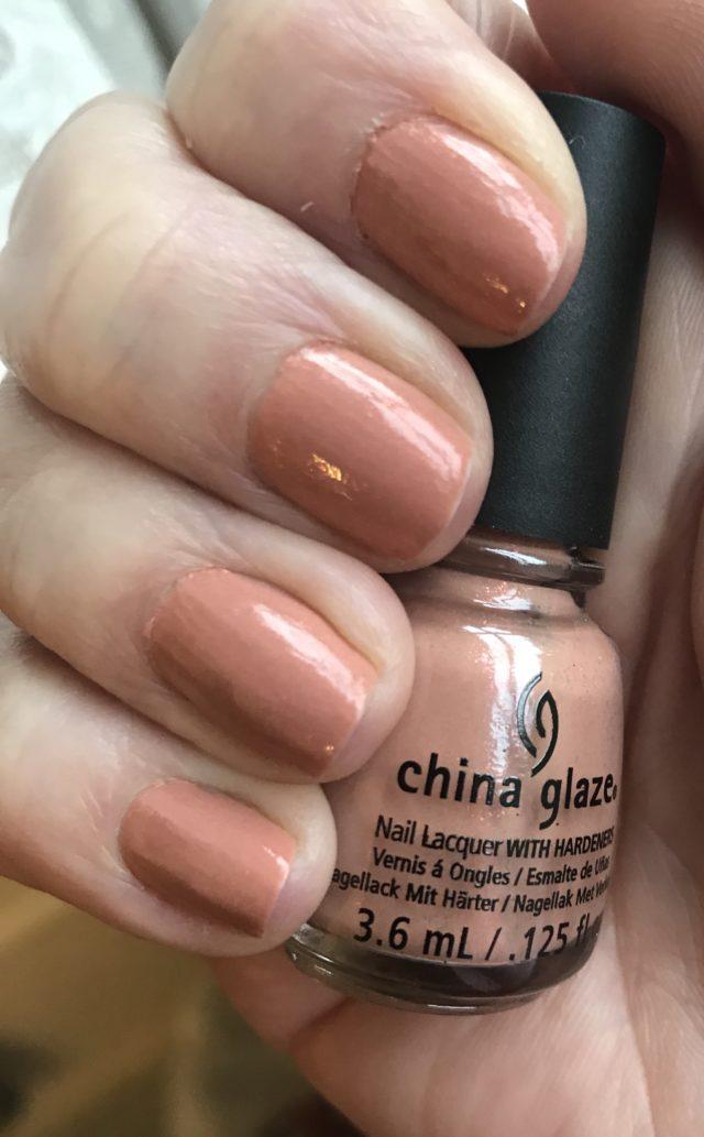 china glaze beach buff