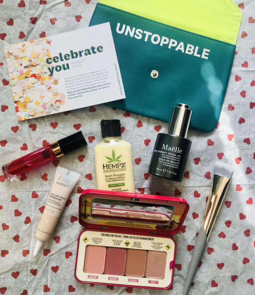 "Ipsy Plus ""Celebrate You"" for March 2020 Plus A Couple of Mini Extras – Never Say Die Beauty"