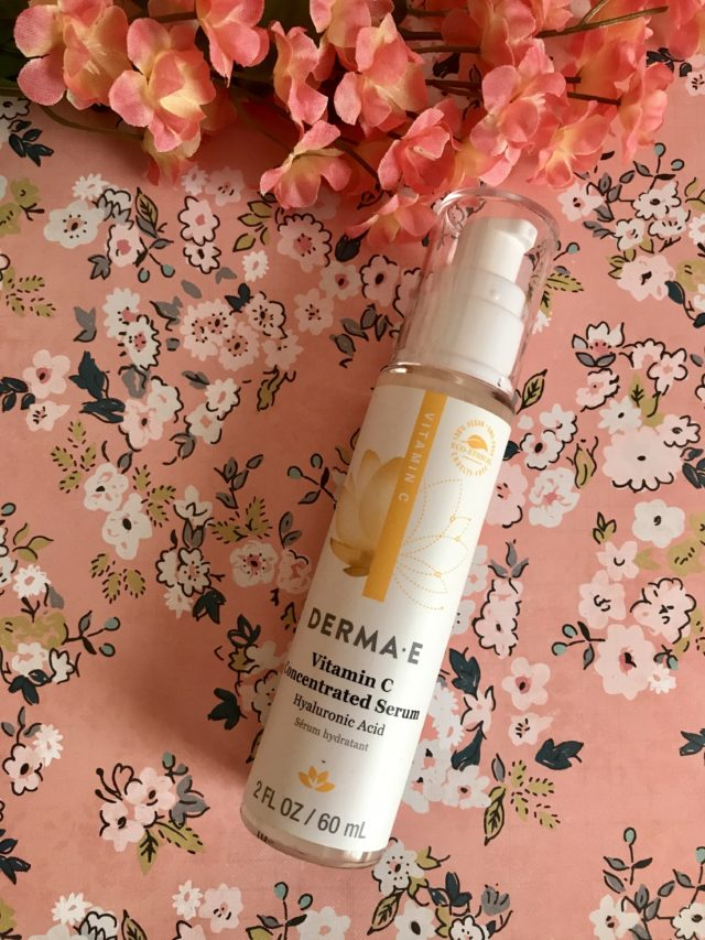 Derma E Vitamin C Concentrated Serum in the full size pump bottle