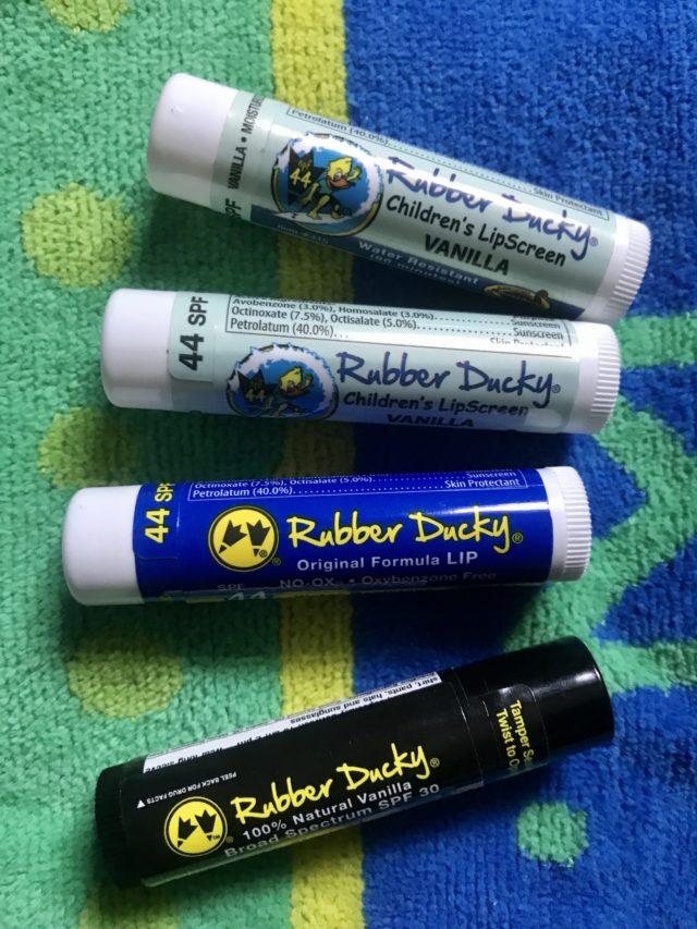 Rubber Ducky Sunscreen & Lip Balm