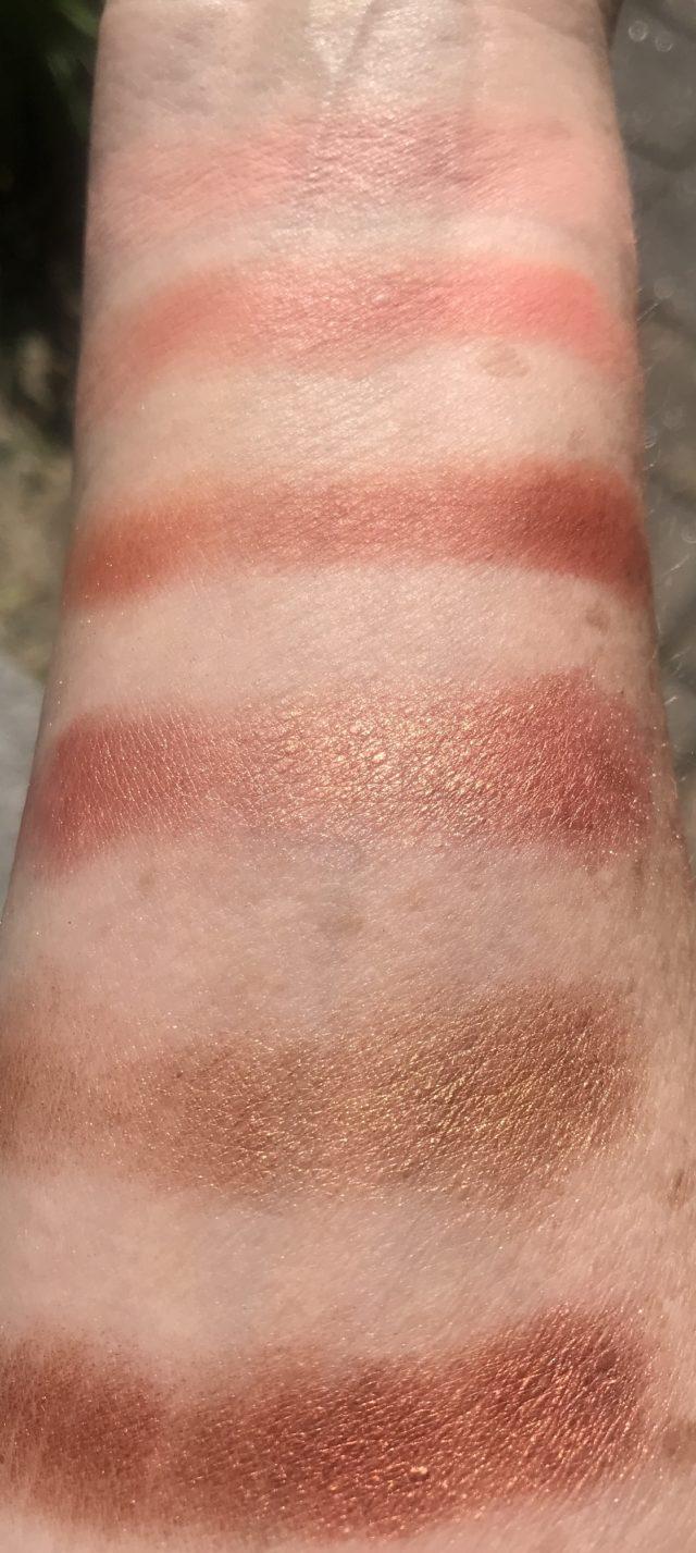 Viseart Theory VII Siren: 6 Shade Professional Eye Shadow Palette