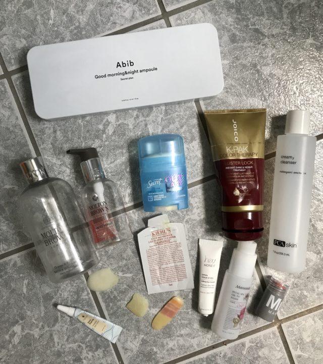 Project Pan: June 2021 Beauty Empties