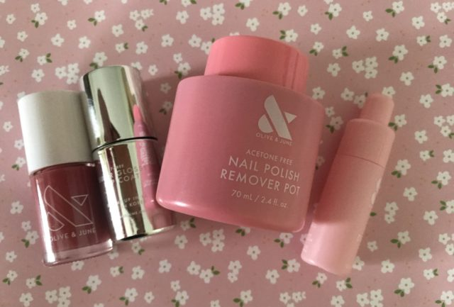 Initial Thoughts on Olive and June Mani System and Dry Drops – Never Say Die Beauty