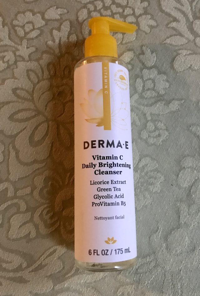 Derma E Vitamin C Daily Brightening Cleanser – Never Say Die Beauty